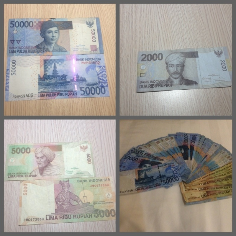 Indonesian Currency (rupiah)